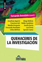 Libro Quehaceres De La Investigacion