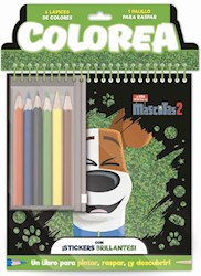 Libro Colorea : Mascotas 2