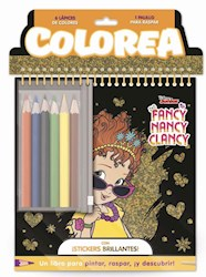 Libro Colorea : Fancy Nancy Clancy