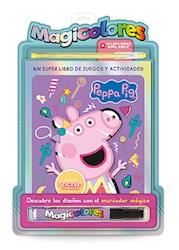 Libro Magicolores : Peppa Pig