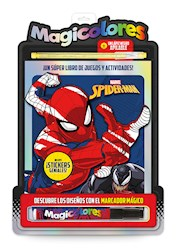 Libro Magicolores : Spider-Man
