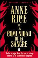 Papel COMUNIDAD DE LA SANGRE (CRONICAS VAMPIRICAS 13) (COLECCION LA TRAMA)