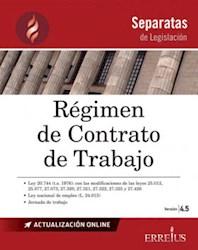 Libro Separatas De Legislacion : Regimen De Contrato De Trabajo