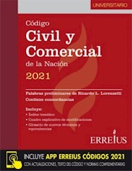 Libro Codigo Civil Y Comercial De La Nacion 2021 ( Universitario )