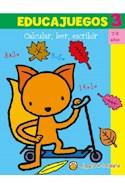 Papel EDUCAJUEGOS 3 CALCULAR LEER ESCRIBIR [7-8 AÑOS] (COLECCION EDUCAJUEGOS)