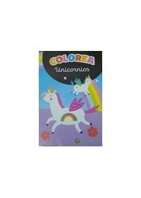 Papel Coleccion Minilibros Para Colorear - Unicornios