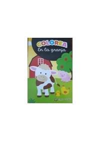 Papel Coleccion Minilibros Para Colorear - En La Granja