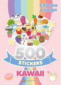 Papel 500 Stickers Kawaii