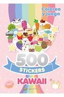 Papel 500 STICKERS KAWAII (COLECCION 500 STICKERS) [COLOREA Y JUEGA]
