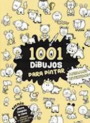 Libro 1001 Dibujos Para Pintar : Animales Divertidos