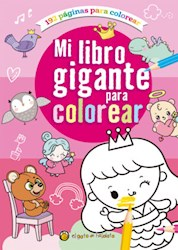 Papel Mi Libro Gigante Para Colorear Rosa