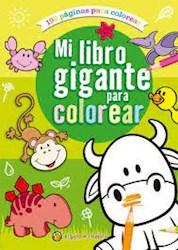 Papel Mi Libro Gigante Para Colorear Verde