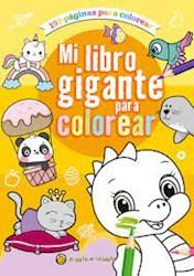 Papel Mi Libro Gigante Para Colorear Naranja