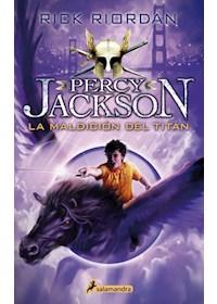 Papel Percy Jackson, La Maldición Del Titán