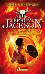 Libro 4. La Batalla Del Laberinto ( Percy Jackson Y Los Dioses Del Olimpo )