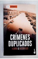 Papel CRIMENES DUPLICADOS (SERIE BERGMAN 2) (BOLSILLO)