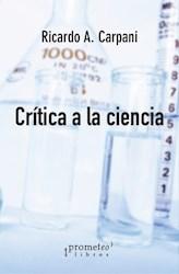 Libro Critica A La Ciencia