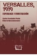 Papel VERSALLES 1919 ESPERANZA Y FRUSTRACION