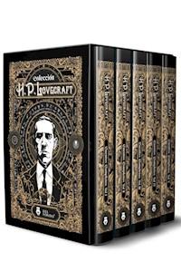 Libro Cuentos Completos De H.P. Lovecraft (5 Volumenes)