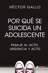 Libro Porque Se Suicida Un Adolescente