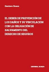 Libro El Deber De Prevencion De Los Da/Os