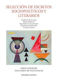 Papel Selección De Escritos Spciopolíticos Y Literarios