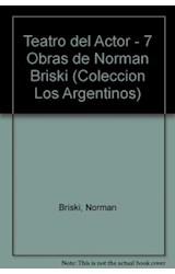 Papel TEATRO DEL ACTOR 7 OBRAS DE NORMAN BRISKI