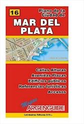 Papel Nº 16 Mapa De La Ciudad De Mar Del Plata