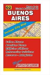 Papel Nº2 Mapa De La Ciudad Autonoma De Buenos Aires