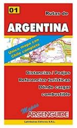 Papel Nº1 Mapa De Rutas Y Caminos De Argentina