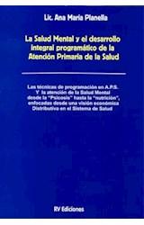 Papel SALUD MENTAL Y EL DESARROLLO INTEGRAL PROGRAMATICO DE LA ATE