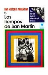 Papel TIEMPOS DE SAN MARTIN 5 UNA HISTORIA ARGENTINA