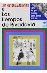 Papel TIEMPOS DE RIVADAVIA DE 1820 A 1829