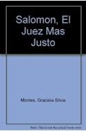 Papel SALOMON EL JUEZ MAS JUSTO [HISTORIAS DE LA BIBLIA] (COLECCION MAR DE CUENTOS 24)
