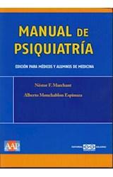 Papel MANUAL DE PSIQUIATRIA (MEDICOS Y ALUMNOS DE MEDICINA)