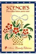 Papel STENCILS PLANTILLAS LISTAS PARA USAR (RUSTICA)