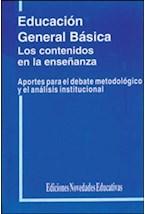 Papel EDUCACION GENERAL BASICA-LOS CONTENIDOS EN LA ENSEÑAMZA