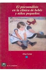 Papel EL PSICOANALISIS EN LA CLINICA DE BEBES Y NIÑOS PEQUEÑOS