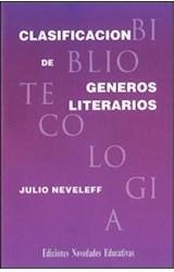 Papel CLASIFICACION DE GENEROS LITERARIOS
