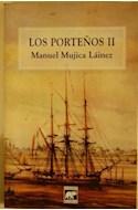 Papel PORTEÑOS II (COLECCION APORTES)