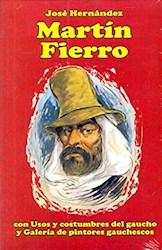Papel Martin Fierro Con Usos Y Costumbres Del Gaucho