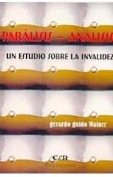 Papel PARALISIS - ANALISIS (UN ESTUDIO SOBRE LA INVALIDEZ)