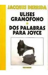 Papel ULISES GRAMOFONO - DOS PLAABRAS PARA JOYCE