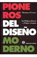 Papel PIONEROS DEL DISEÑO MODERNO (RUSTICA)
