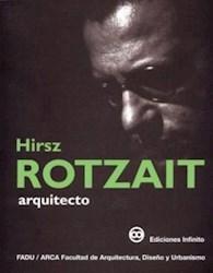 Libro Hirsz Rotzait  Arquitecto