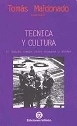 Libro Tecnica Y Cultura