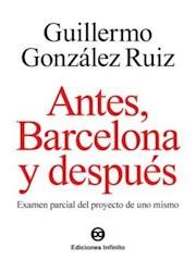 Libro Antes, Barcelona Y Despues