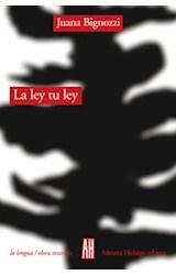 Papel LA LEY TU LEY