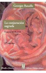 Papel CONJURACION SAGRADA, LA (ENSAYOS 1929-1939)