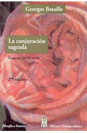 Papel CONJURACION SAGRADA ENSAYOS 1929-1939